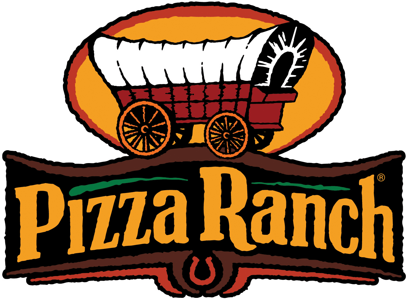 Image result for pizza ranch logo